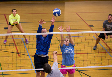 Launch of our new Monday Night Semi-competitive volleyball league